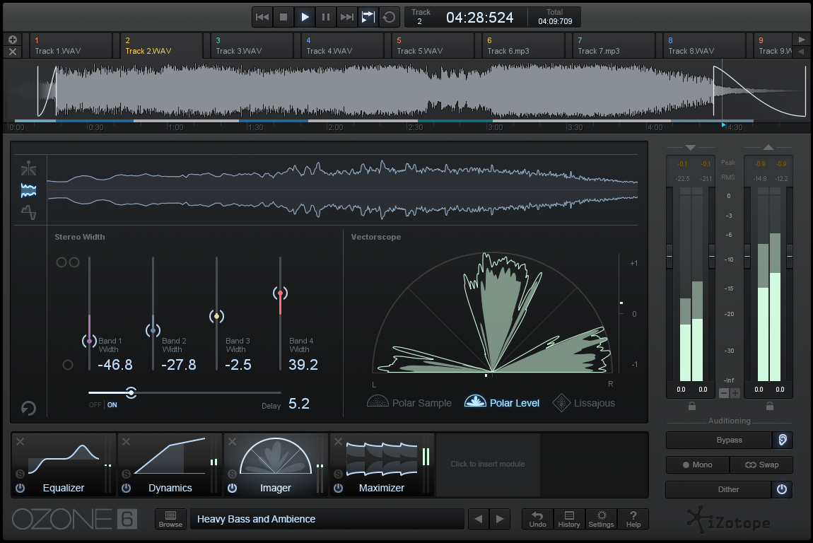 Review izotope ozone 6 mastering processor brookes for O zone architecture